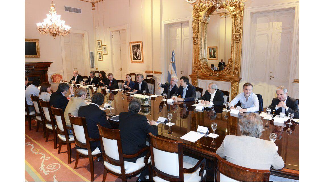 Macri encabezó la última reunión de Gabinete previo a sus vacaciones