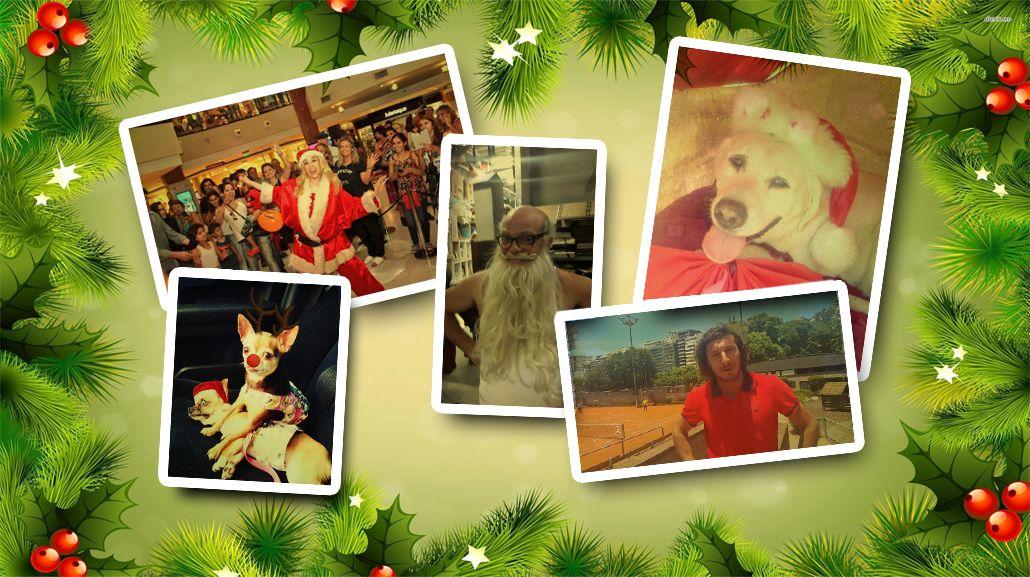 Los mensajes y fotos de los famosos en vísperas de Navidad