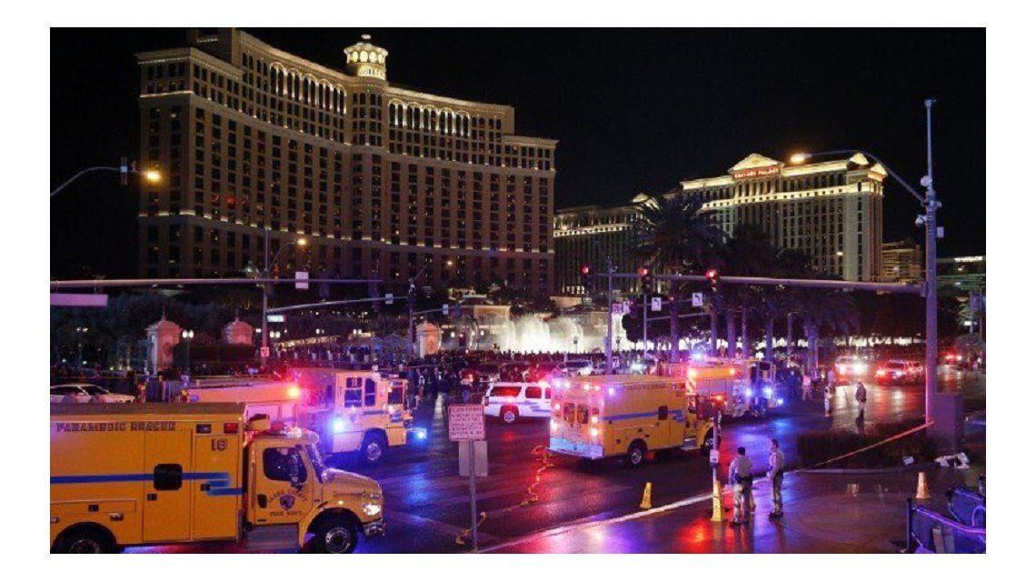 Un muerto y más de 37 heridos en un accidente en Las Vegas