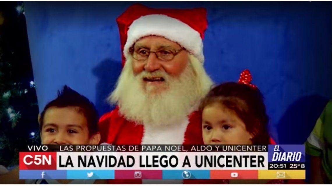 Unicenter festeja la Navidad con un centro de entretenimientos para sus clientes