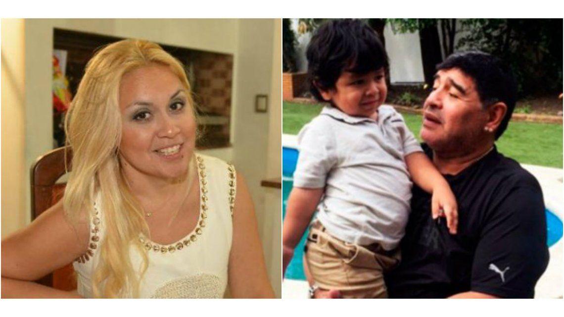 Verónica Ojeda: Maradona ni llamó a Dieguito por la operación