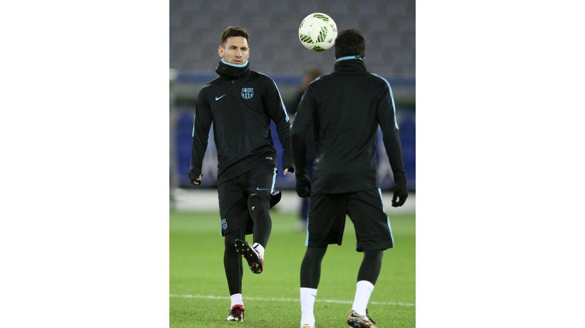 Messi entrenó con normalidad y dejó señales positivas para la final ante River