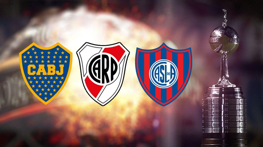 Boca, River y San Lorenzo, cabezas de serie en la Copa Libertadores