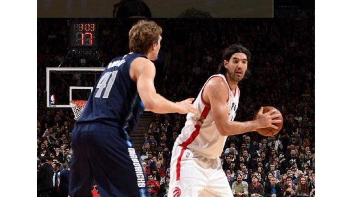 NBA: Luis Scola se destacó en el triunfo de los Toronto Raptors