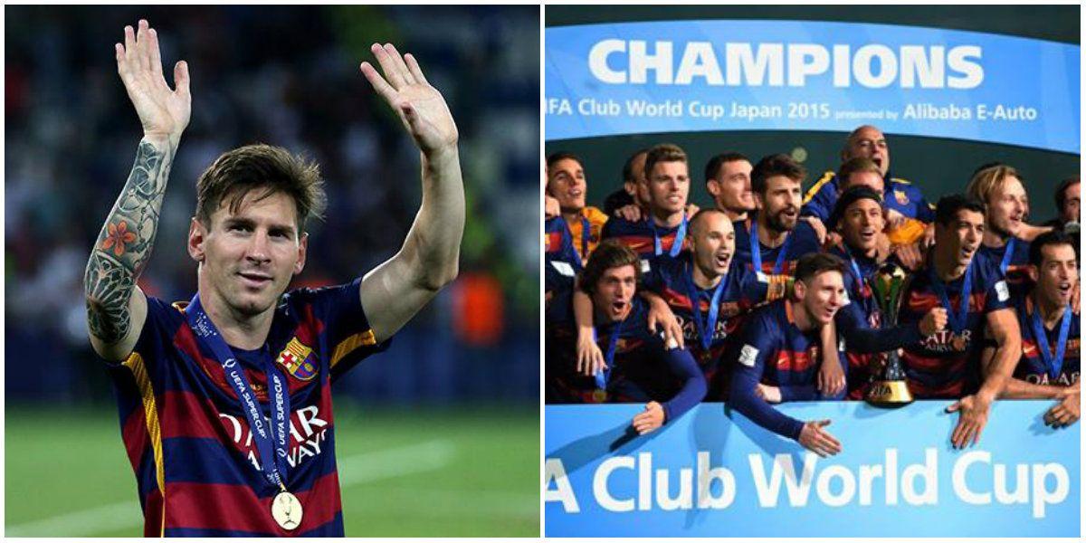 El mensaje de Lionel Messi por el triunfo en el Mundial de Clubes