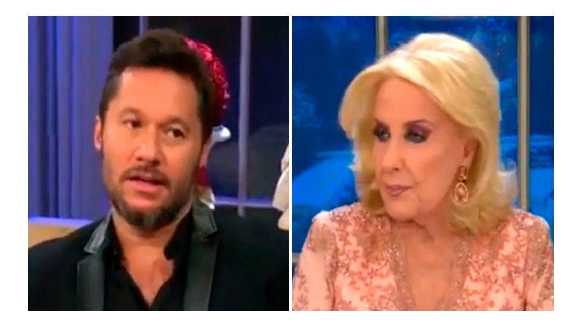 Diego Torres habló de su momento  incómodo en la mesa de Mirtha Legrand en Radio 10