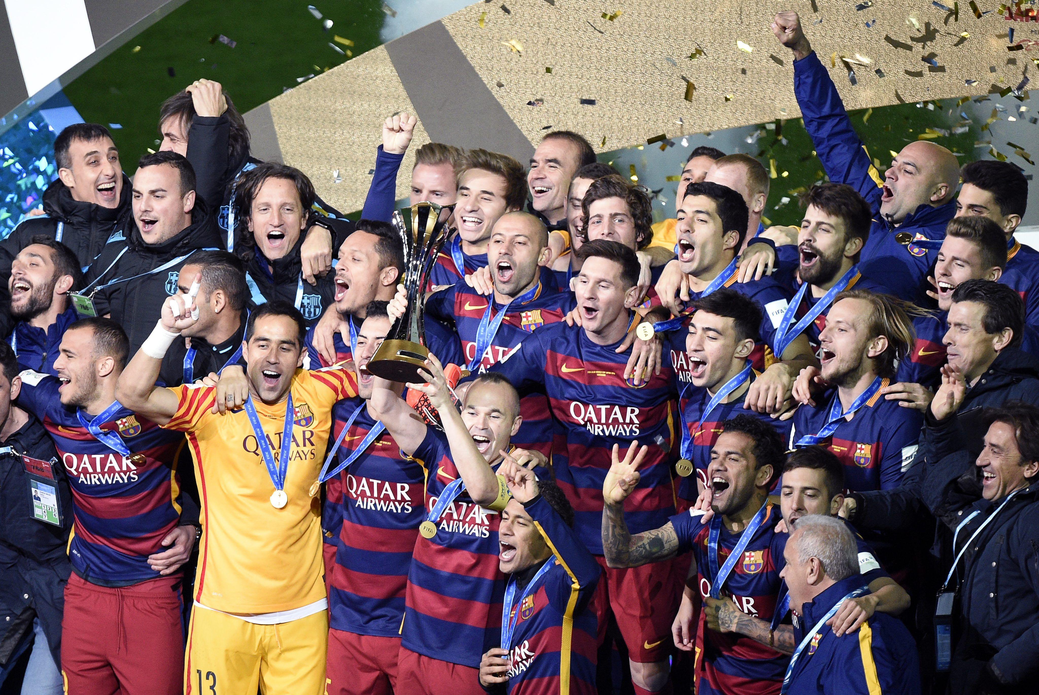 El triunfo del Barcelona ante River, en imágenes