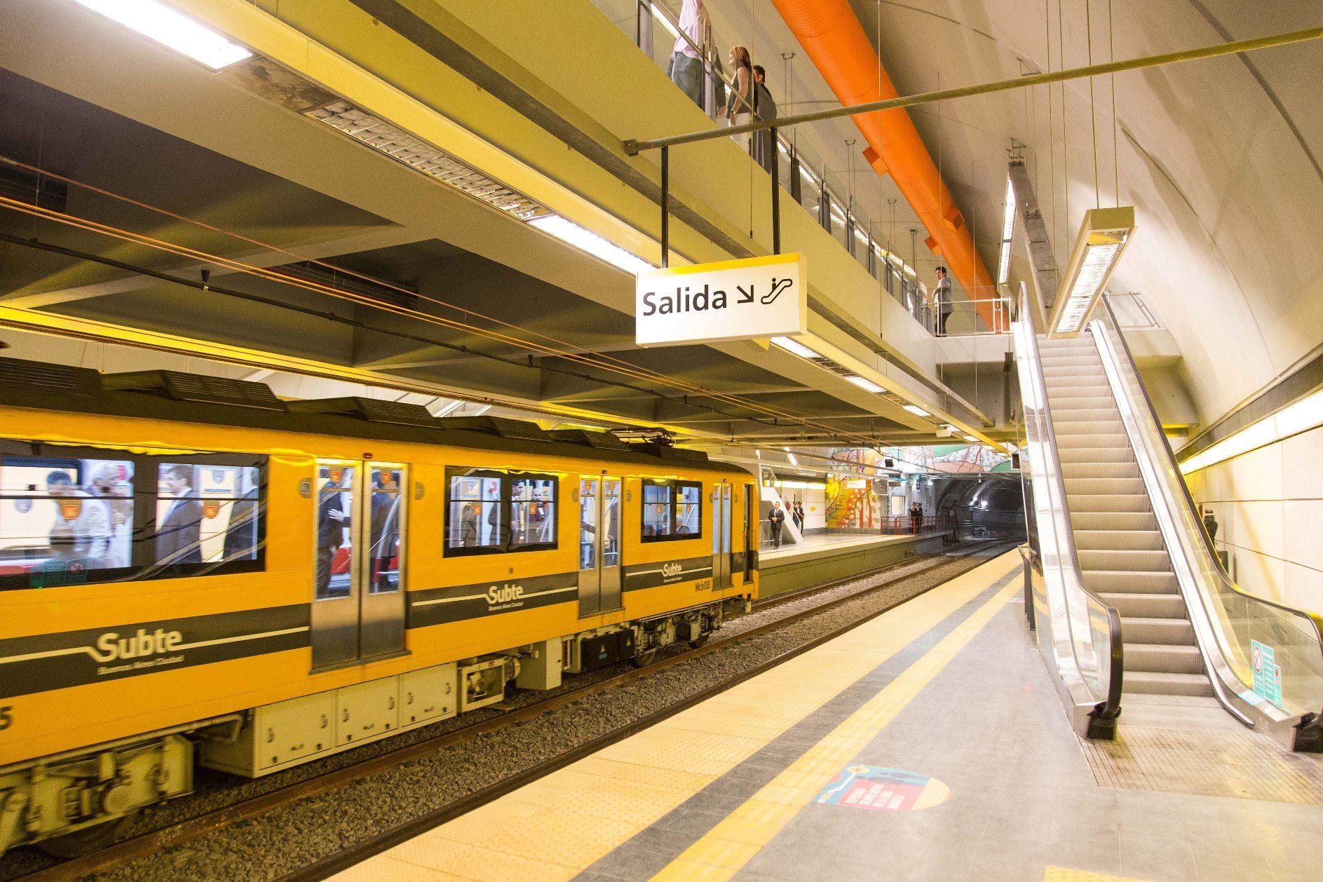 Cómo son las nuevas estaciones de la Línea H del subte