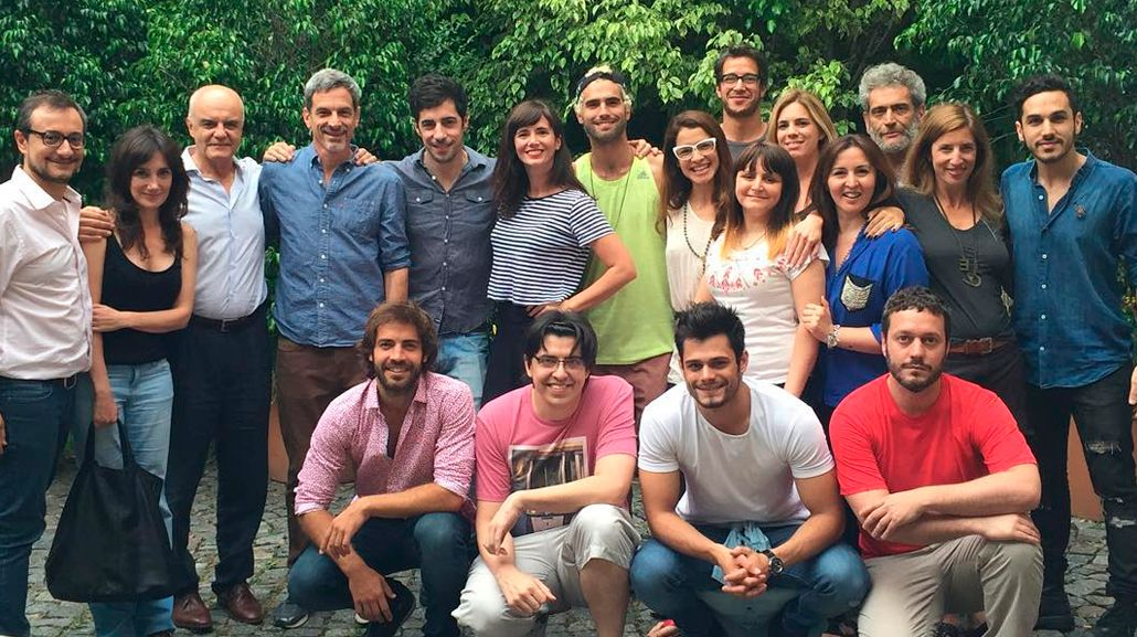 Griselda Siciliani comenzó las grabaciones de Educando a Nina junto a Esteban Lamothe