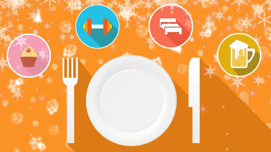 Siete consejos para no subir kilos de más en Navidad
