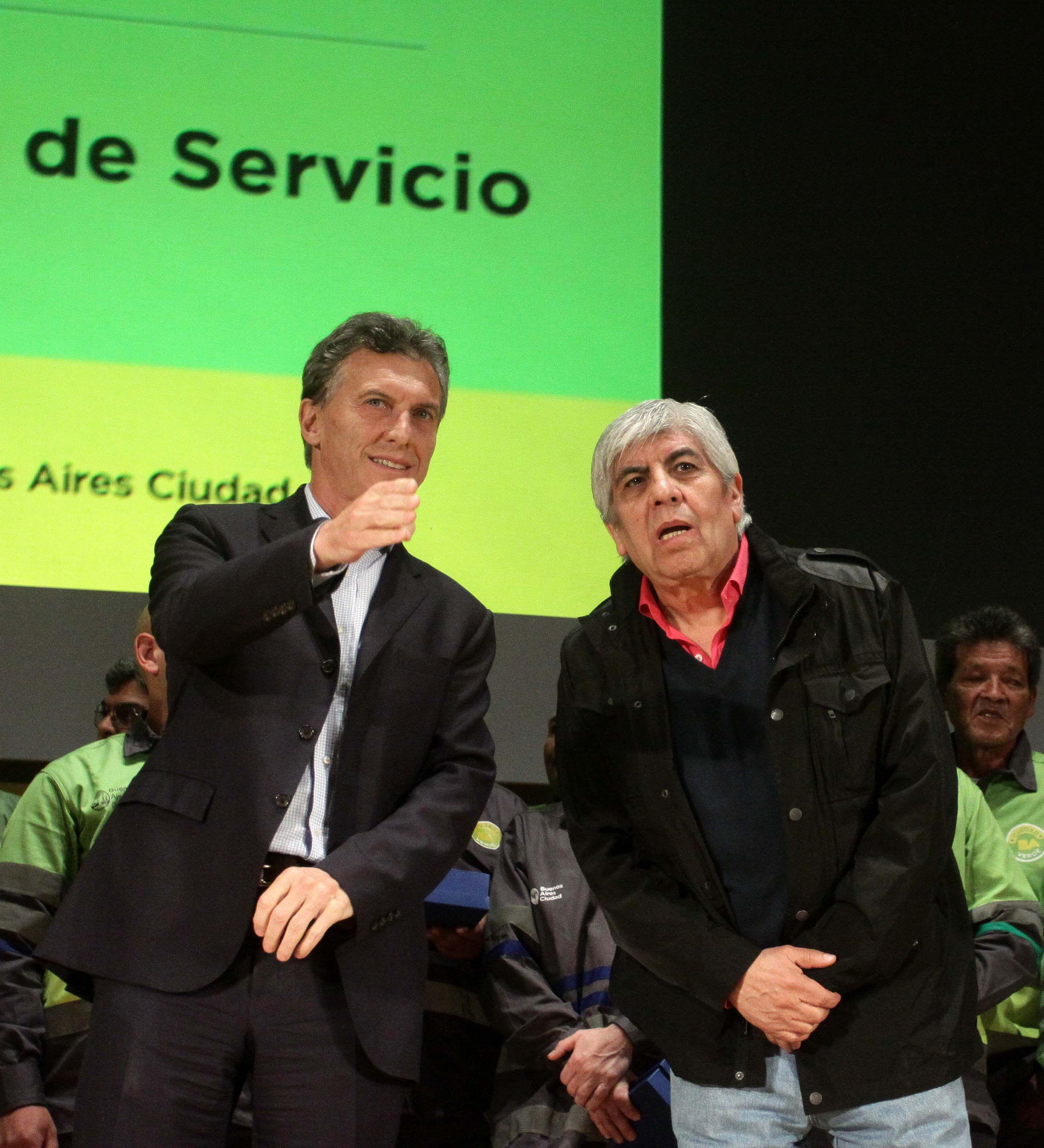 Moyano: Si a Macri lo califican como gorila, algunos pelitos debe tener