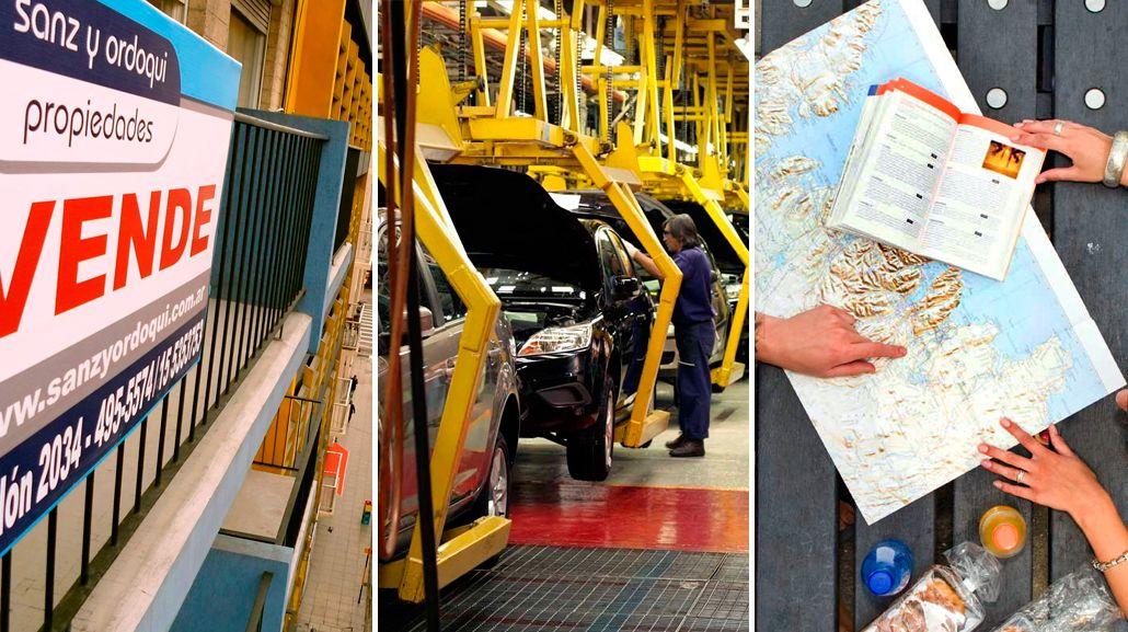 Optimismo en sectores inmobiliario, automotriz y turístico por el levantamiento del cepo