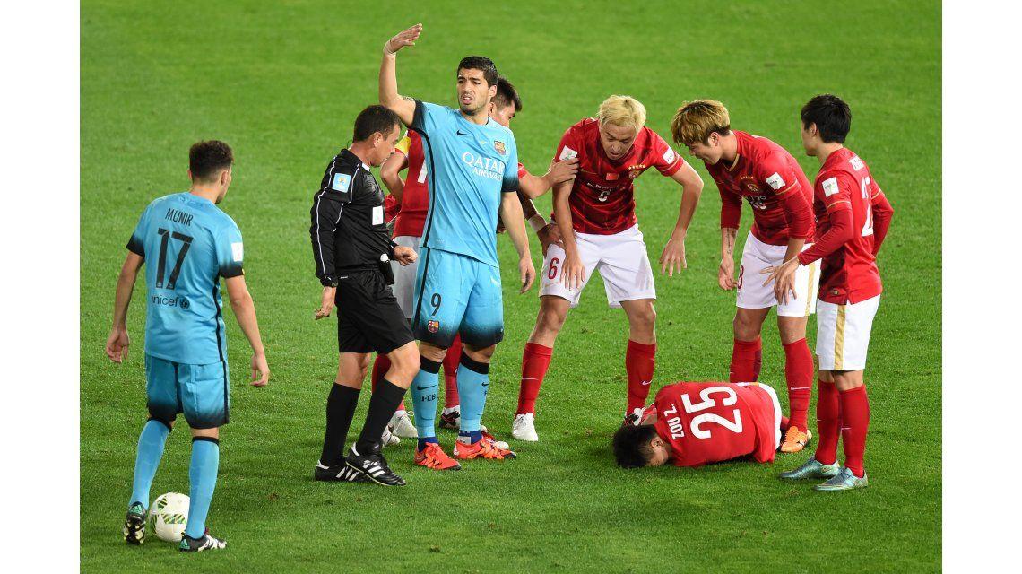 Impresionante fractura de un rival del Barcelona en el Mundial de Clubes