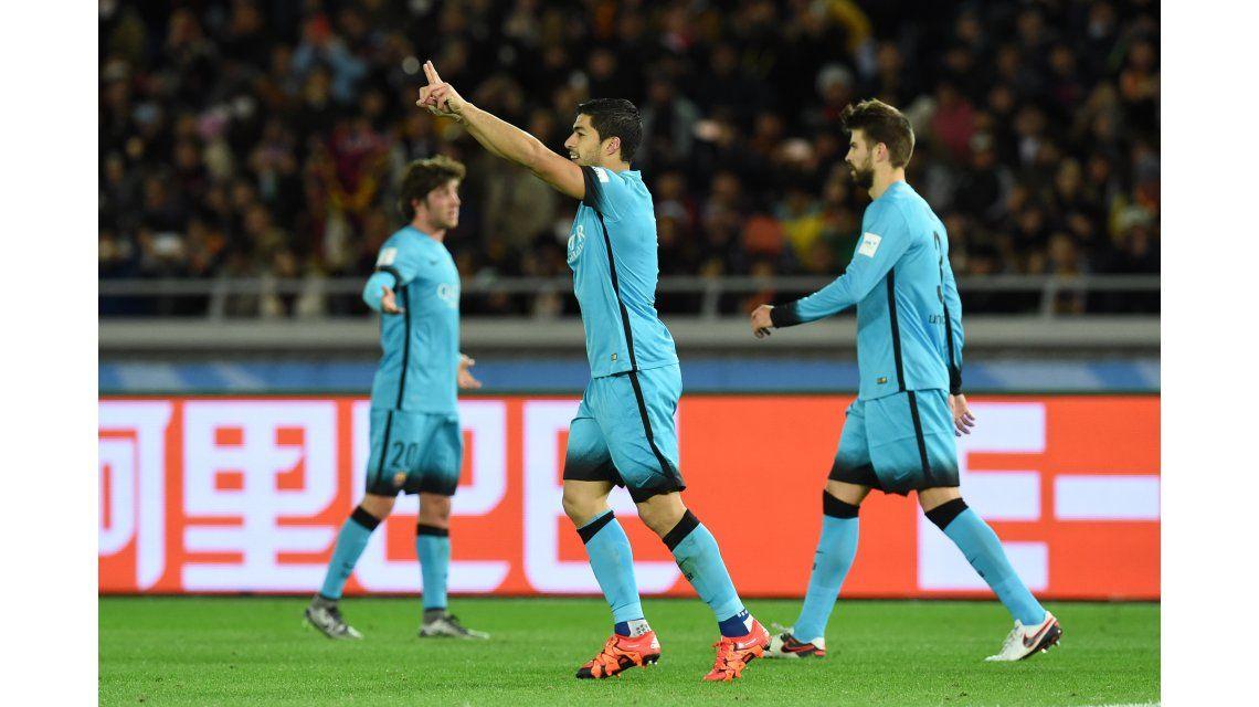 Sin Messi y con un Suárez intratable, Barcelona está en la final y va por River