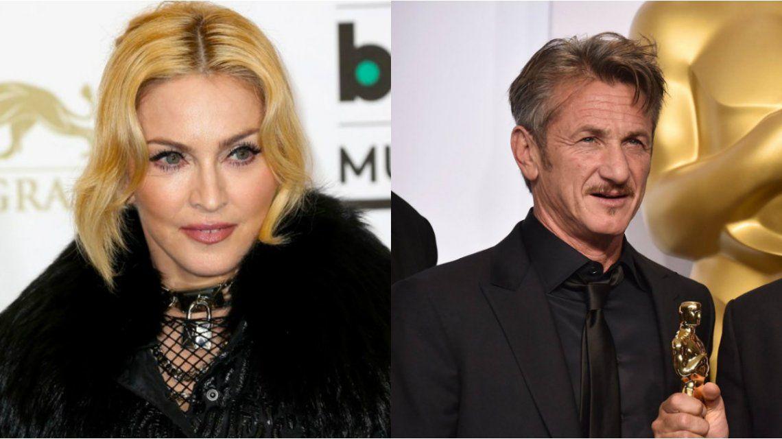 Madonna desmintió que Sean Penn haya sido violento durante su matrimonio