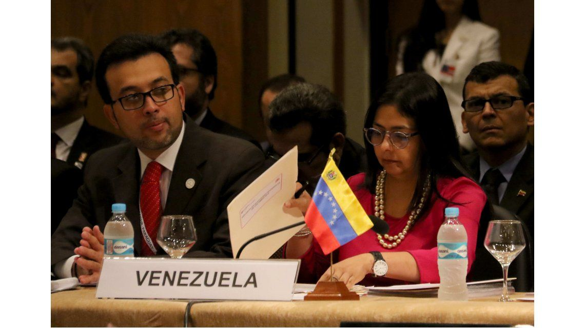 Venezuela acusó a Macri de hacer injerencismo