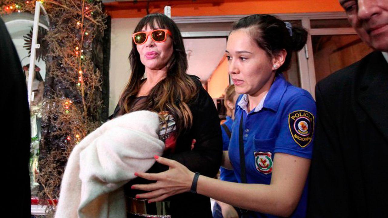 Moria Casán intentará conseguir la prisión domiciliaria en Asunción