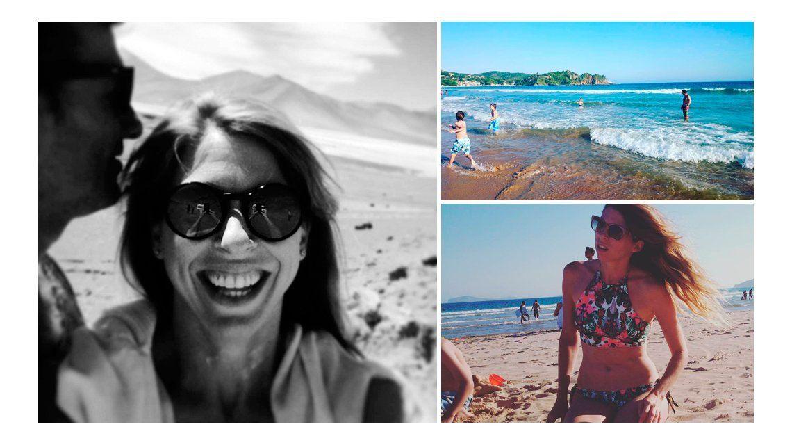 Florencia Bertotti se relaja en Brasil antes de regresar a la televisión