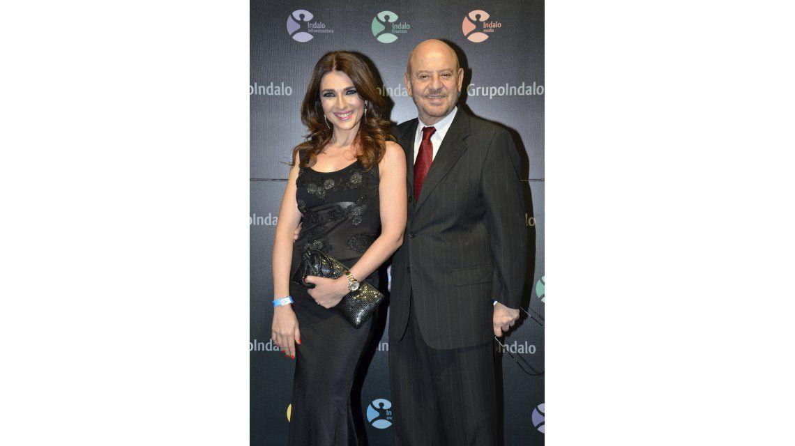Fátima Slame y Jorge Lafauci