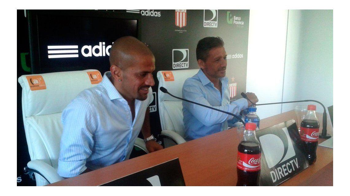 Vivas fue presentado como técnico de Estudiantes: Lo que ha hecho el equipo es muy bueno
