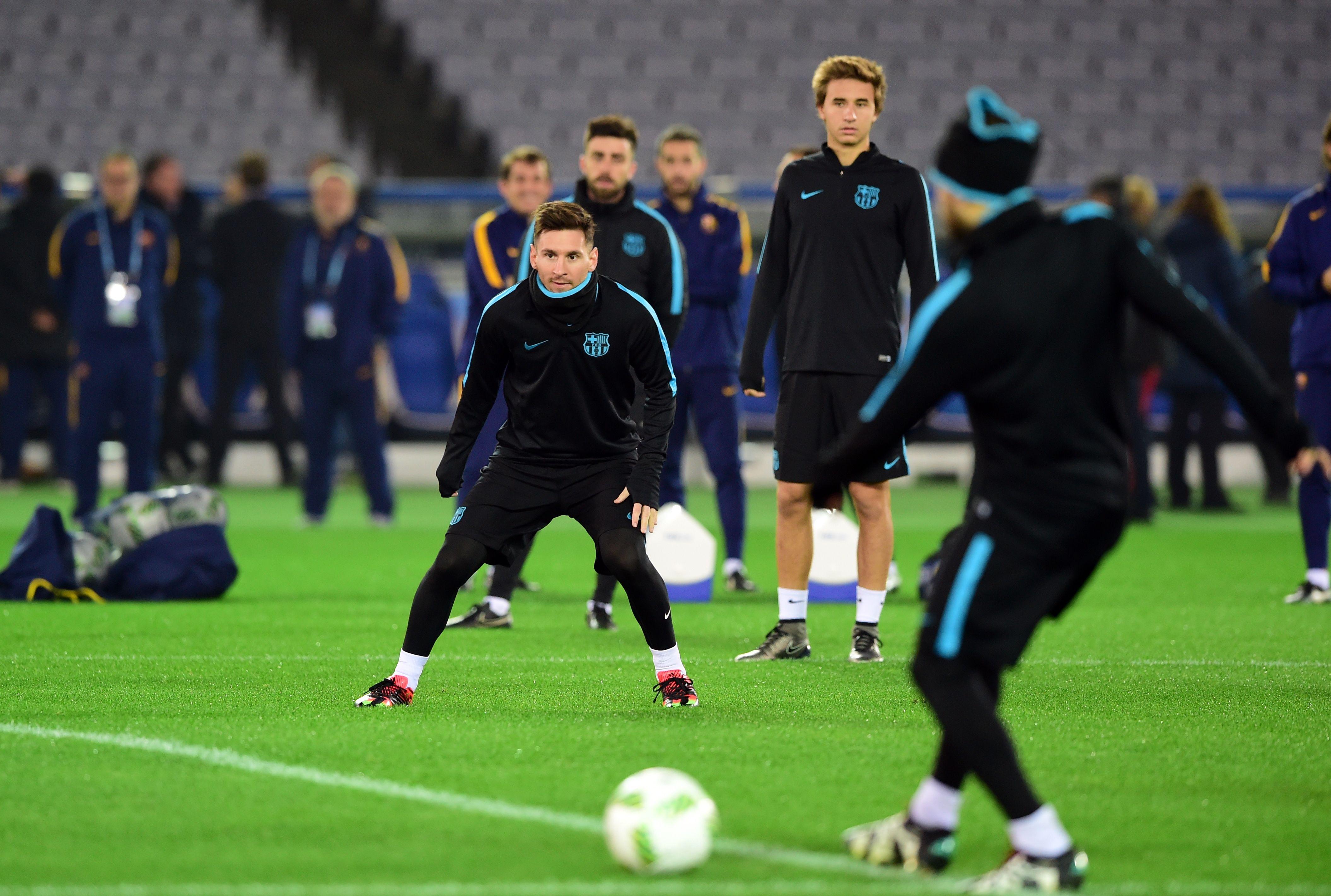 Mundial de Clubes: Messi no entrenó en el Barcelona
