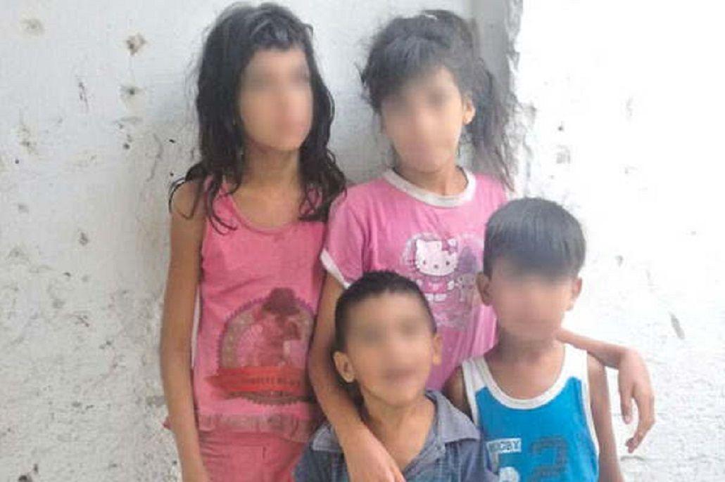 Consternación en Santiago por cinco hermanitos en estado de abandono