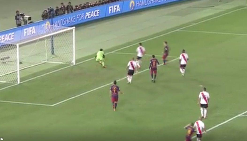 Mirá la impresionante tapada de Barovero ante Lionel Messi