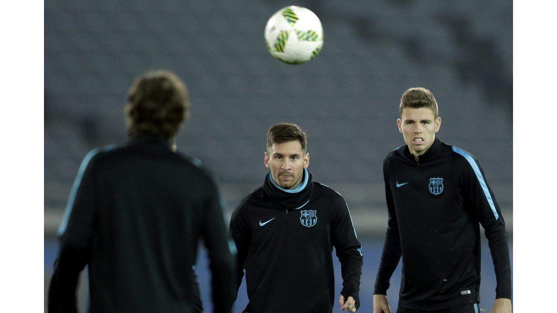 Messi se perdió la semifinal del Mundial de Clubes por un cólico renal