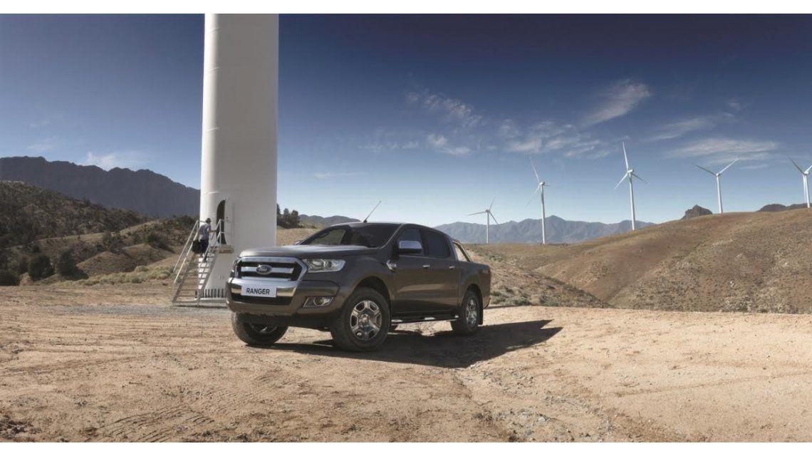 Ford develó por primera vez cómo será la nueva Ranger