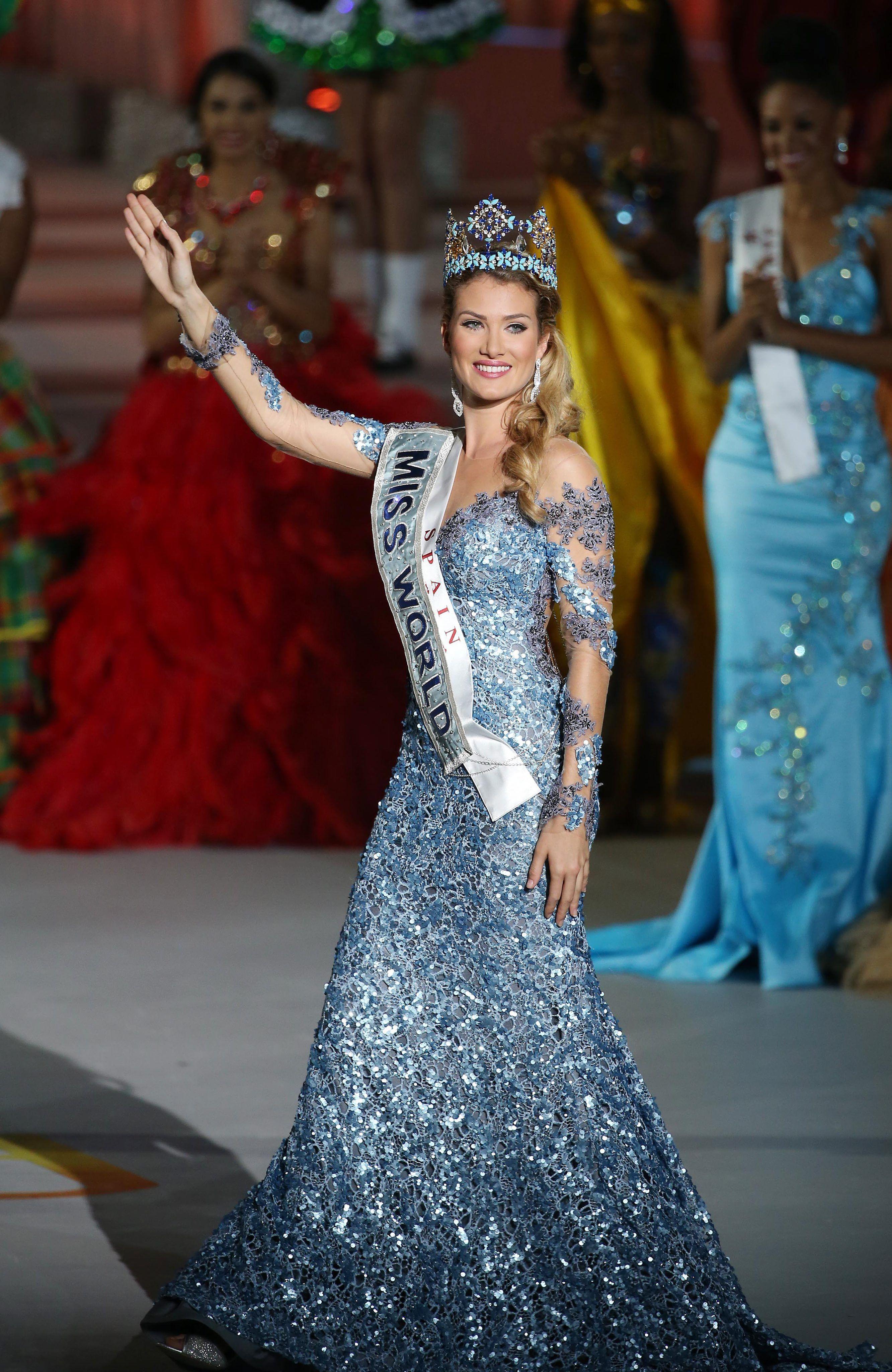 Eligieron a una española como Miss Mundo: El jurado vio mi belleza interior
