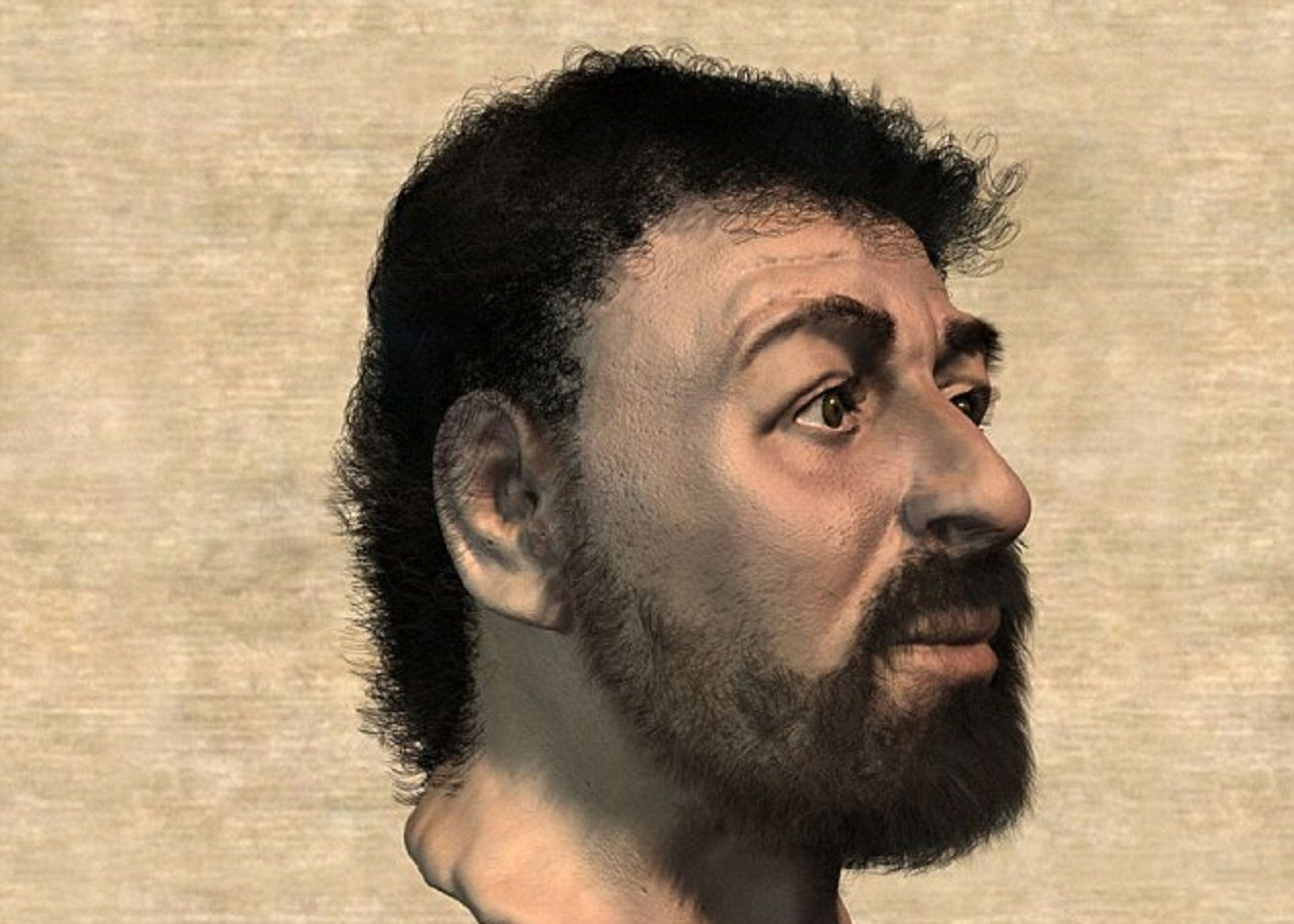 ¿Es ésta la verdadera cara de Jesús?