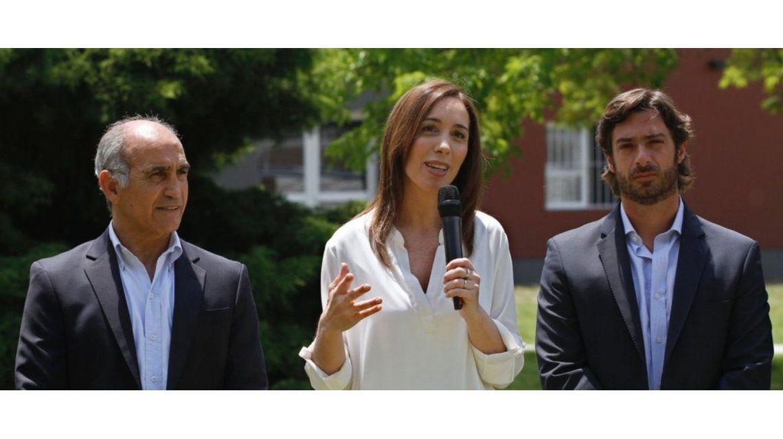 María Eugenia Vidal se reúne con docentes bonaerenses