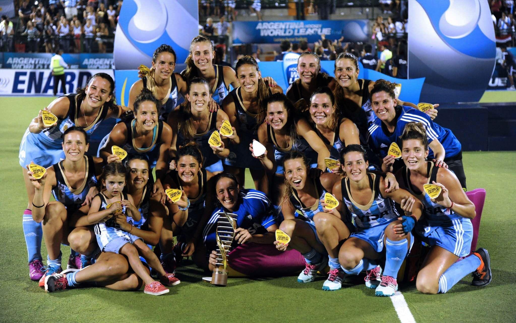 Las Leonas, segundas en el ránking tras ganar la Liga Mundial en Rosario