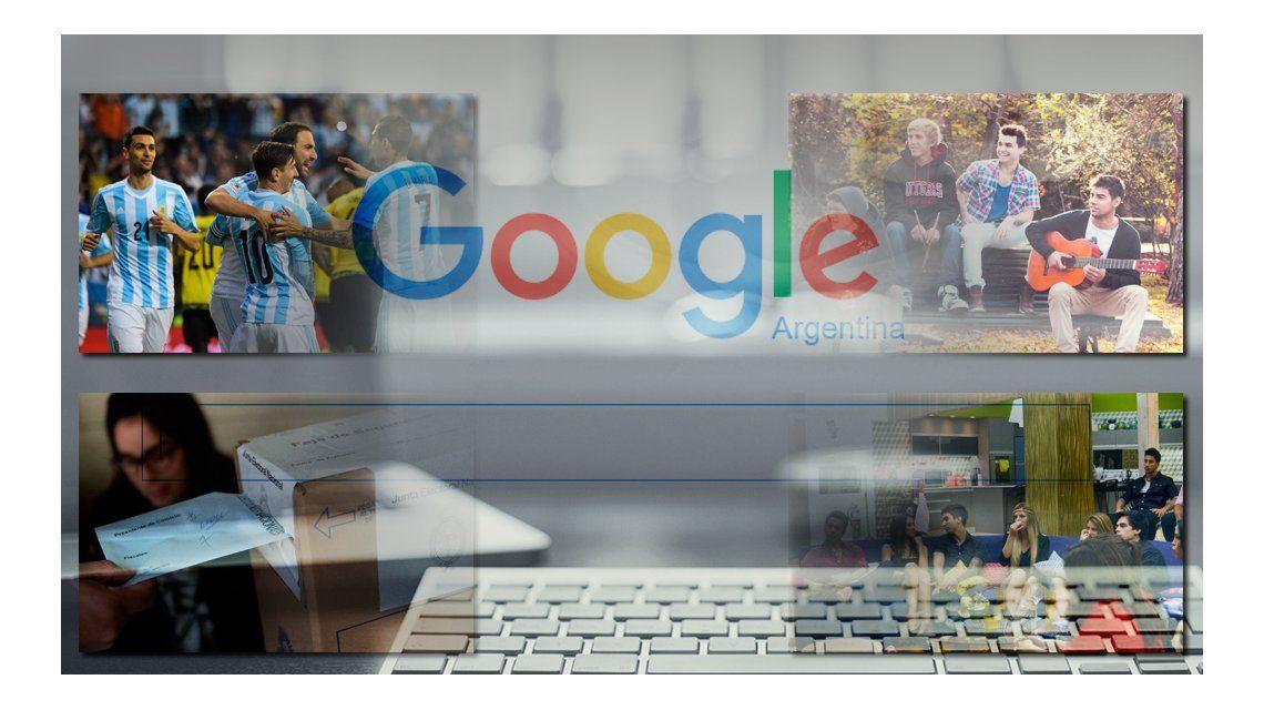 ¿Qué fue lo más buscado de Google por los argentinos 2015?