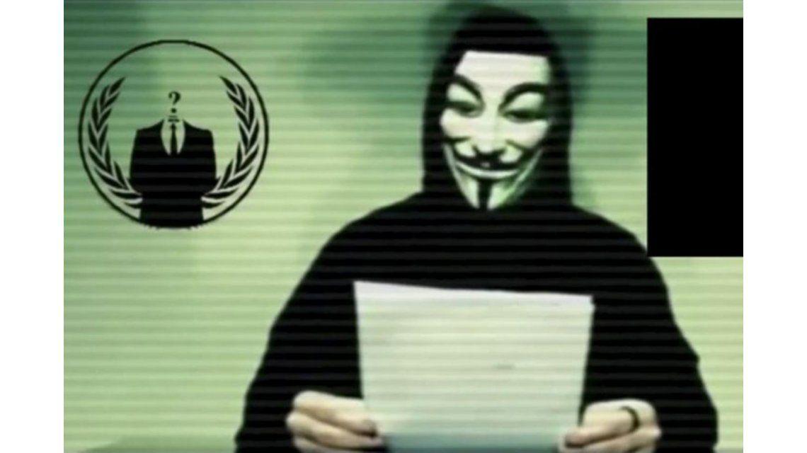 Anonymous advierte que la cyber guerra contra ISIS puede llevar a la censura de internet