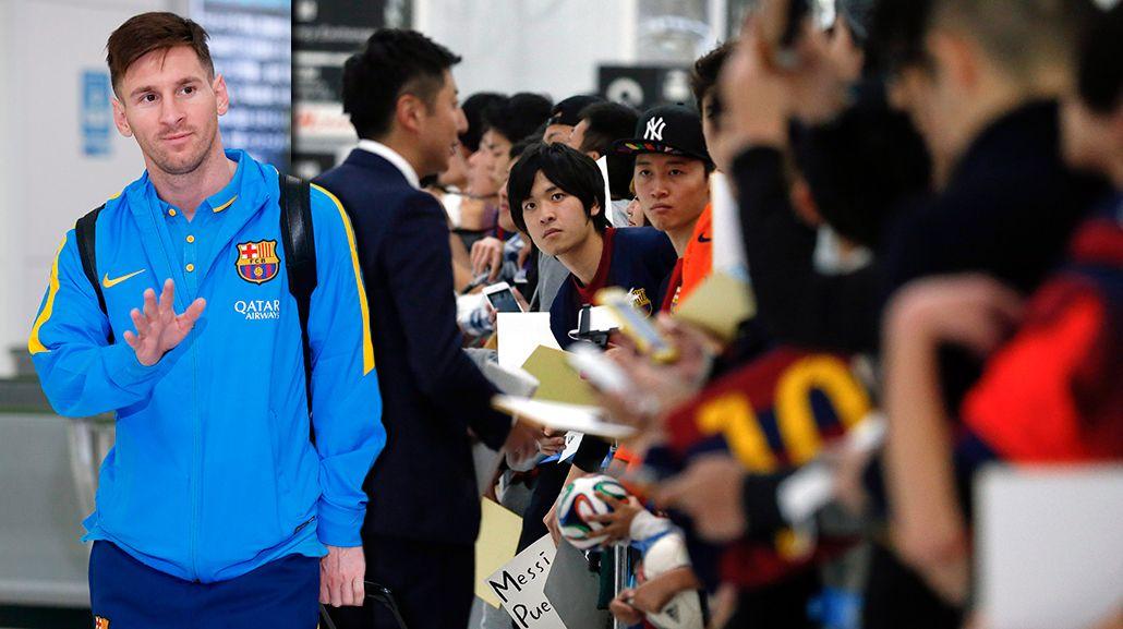 Furor en todos lados: Japón también se rindió a los pies de Lionel Messi