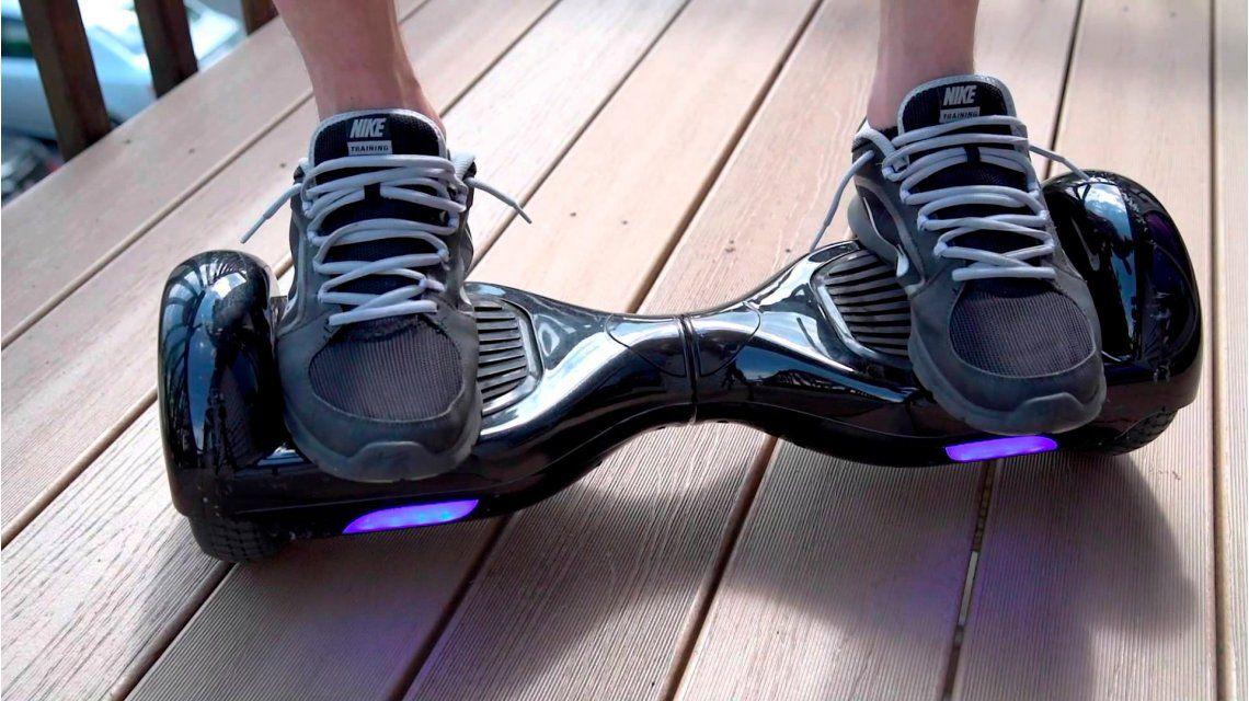 Amazon restringió la venta de hoverboards por una falla que los hace explotar