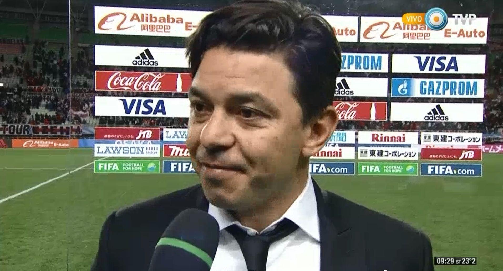 Gallardo: Debemos jugar un partido perfecto para lograr el título