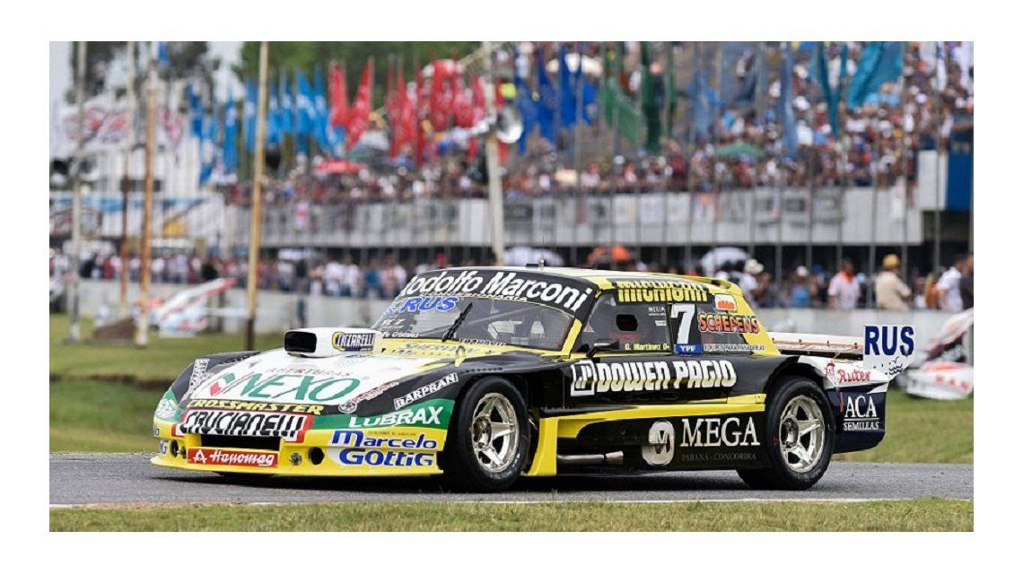A los 49 años, el Gurí Martínez se consagró campeón del TC por segunda vez