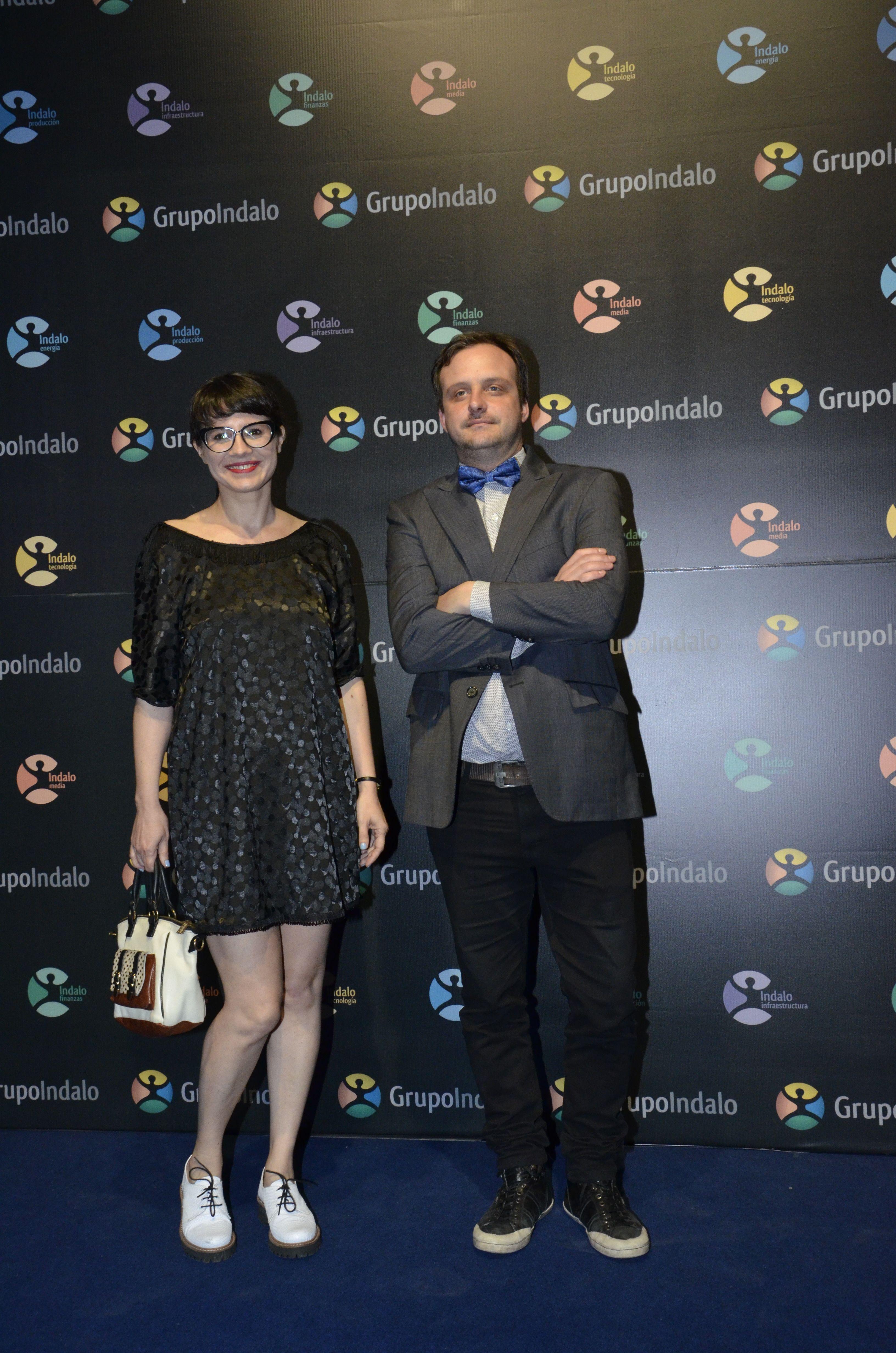 Gisela Marziotta y Matías Castañeda