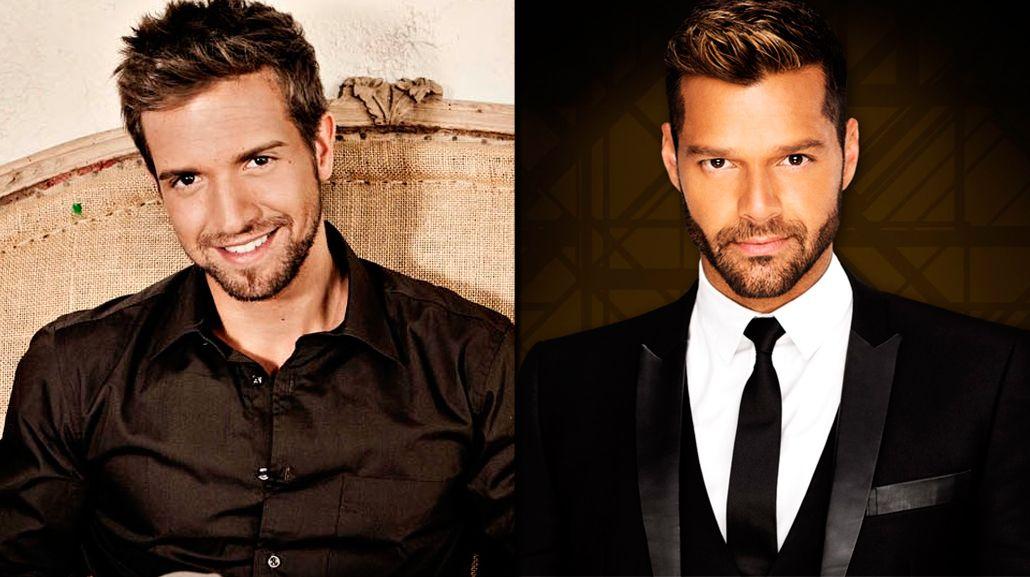 ¿Están de novios Ricky Martin y Pablo Alborán?