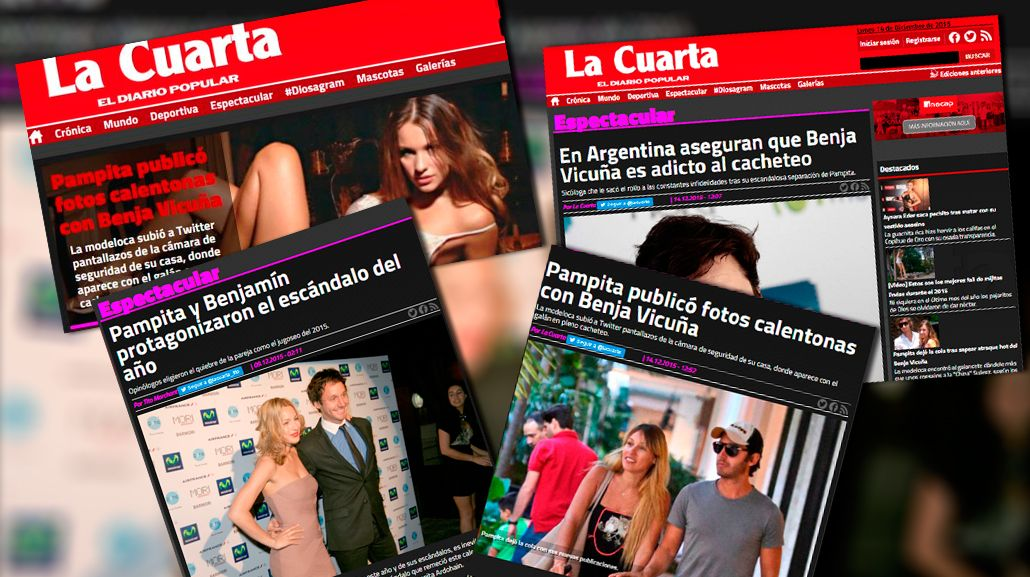 En Argentina aseguran que Vicuña es adicto al cacheteo, dicen los diarios de Chile