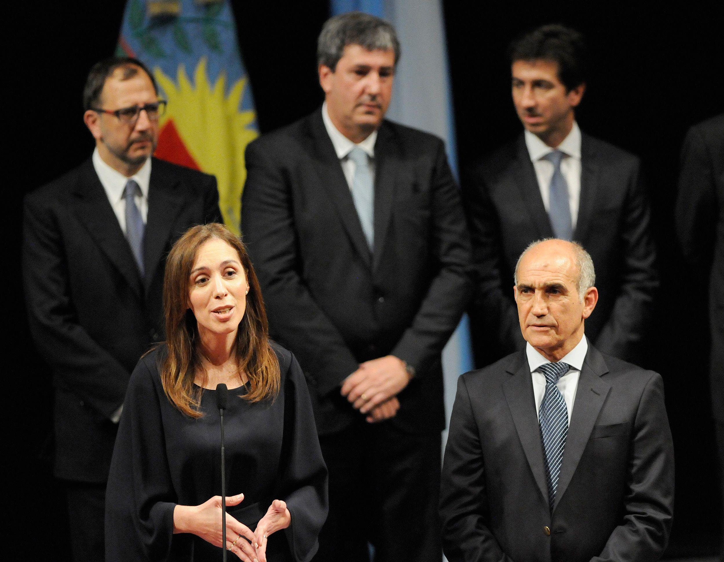 El nuevo Gabinete bonaerense: Vidal le tomó juramento a sus ministros