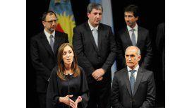 Vidal en la jura de sus ministros