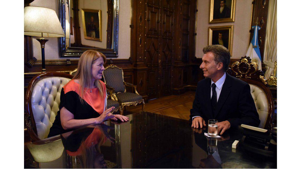 Macri también recibió a Stolbizer en la Rosada