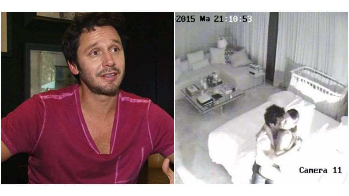 Benjamín Vicuña sobre las fotos en la casa de Pampita: No era una situación romántica