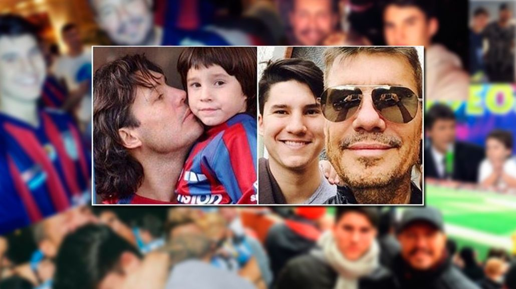La foto para la nostalgia que publicó Marcelo Tinelli junto a su hijo Francisco