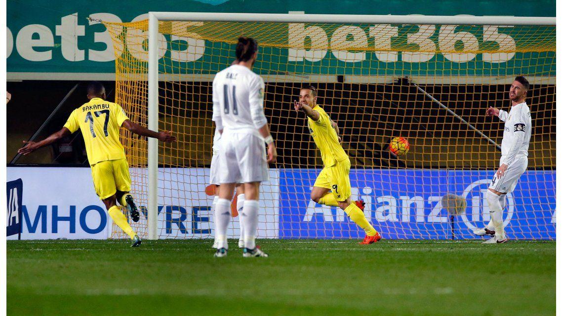 Villarreal sorprendió al Real Madrid y le impidió acercarse a la punta