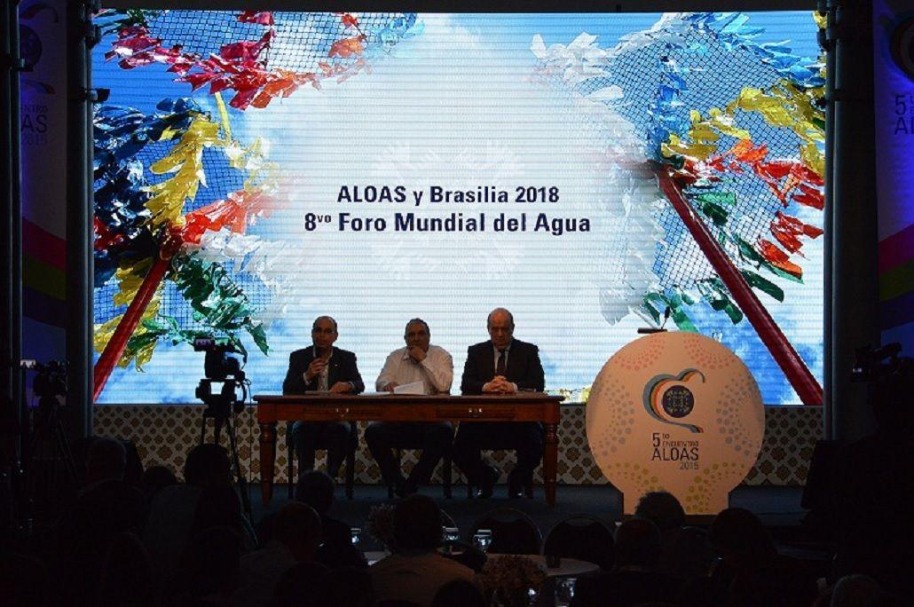 Se reunió ALOAS para de preparar el Foro Mundial del Agua en Brasil