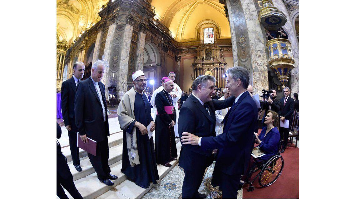 Macri en la Catedral Metropolitana